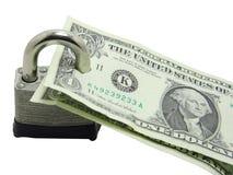 De bescherming van het geld Stock Afbeelding