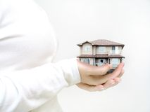 De Bescherming van het huis Stock Afbeeldingen