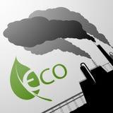 De bescherming van het milieu De illustratie van de voorraad Stock Afbeelding