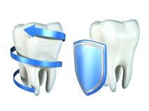 De bescherming van tanden Royalty-vrije Stock Afbeelding