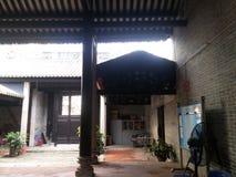 De beschermingseenheden van Shenzhen culturele overblijfselen, Wang Dazhong Cheng Temple Royalty-vrije Stock Foto