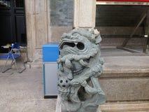 De beschermingseenheden van Shenzhen culturele overblijfselen, Wang Dazhong Cheng Temple Stock Fotografie