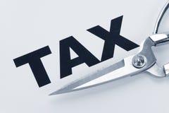 De Besnoeiing van de belasting stock afbeeldingen