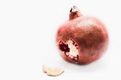 De besnoeiing van het de liefdehart van de granaatappel Stock Foto's