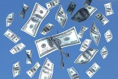 De besnoeiing van het geld Royalty-vrije Stock Afbeelding