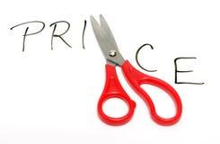 De Besnoeiingen van de prijs stock foto's