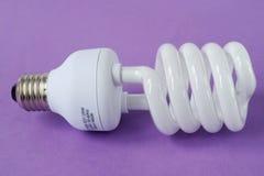 De besparing van de macht op lamp Stock Fotografie