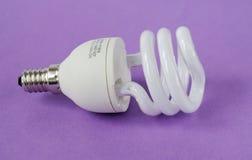De besparing van de macht op lamp Royalty-vrije Stock Fotografie