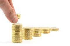De besparingen van de motie Royalty-vrije Stock Fotografie