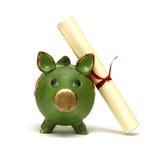 De Besparingen van het onderwijs Stock Afbeeldingen