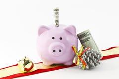 De Besparingen van Kerstmis Stock Foto