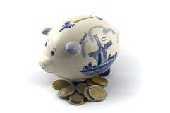 De besparingen van Piggy Royalty-vrije Stock Fotografie
