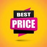De beste banner van de prijsbel Stock Foto's