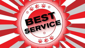 De beste Dienst vector illustratie
