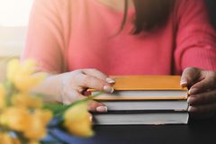 De beste gift is een boek stock fotografie