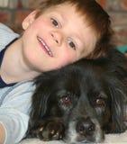 De Beste Vriend van een Jongen #3 Stock Foto