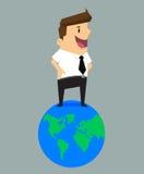 De beste zakenman van de wereld Stock Fotografie