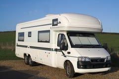De Bestelwagen van de kampeerauto Royalty-vrije Stock Foto's