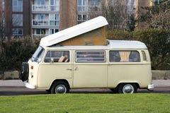 De Bestelwagen van de kampeerauto Stock Foto