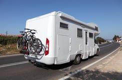 De bestelwagen van de kampeerauto Stock Fotografie