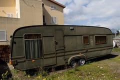 De bestelwagen van de kampeerauto Royalty-vrije Stock Afbeelding