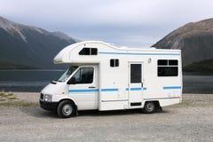 De bestelwagen van de kampeerauto stock foto's