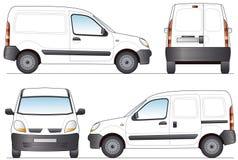 De Bestelwagen van de levering Stock Fotografie
