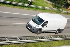 De bestelwagen van de levering Stock Foto