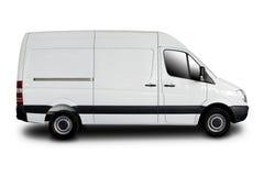 De Bestelwagen van de levering Stock Afbeeldingen