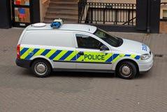 De Bestelwagen van de politie Stock Foto's