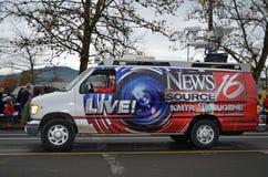 De bestelwagen van het nieuws Royalty-vrije Stock Afbeelding