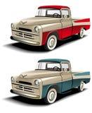de bestelwagen van jaren '50stijlen royalty-vrije illustratie
