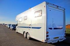 De bestelwagen van kampeerautotourer Royalty-vrije Stock Afbeelding