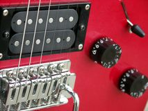 De Bestelwagens van de gitaar Stock Foto's