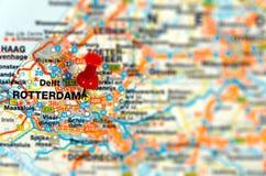 De bestemming Rotterdam van de reis royalty-vrije stock foto's
