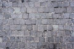 De bestrating van de bloksteen Stock Foto's