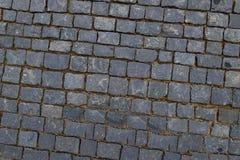 De bestrating van de graniettegel Royalty-vrije Stock Afbeeldingen