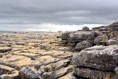 De bestrating van het kalksteen Royalty-vrije Stock Fotografie
