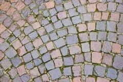 De bestratingspatroon van de steen Stock Afbeelding