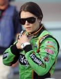De Bestuurder Danica Patrick van de raceauto royalty-vrije stock afbeelding