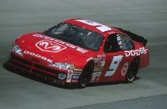 De Bestuurder van Bill Elliot NASCAR stock foto