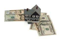 De betaling van de hypotheek Stock Fotografie
