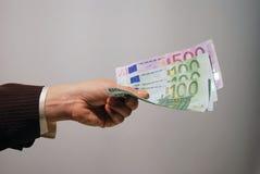 De betaling van het contante geld Stock Foto's