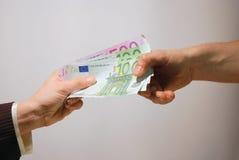 De betaling van het contante geld Royalty-vrije Stock Foto