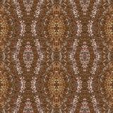 De betegelende rijken textuur van het achtergrondornamentpatroon Stock Afbeelding