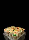 De Beten van de tortillaomslag Royalty-vrije Stock Foto's