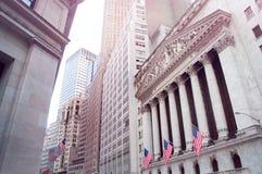 De Beurs van New York Royalty-vrije Stock Afbeeldingen