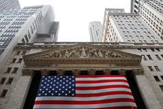 De Beurs van New York stock afbeelding