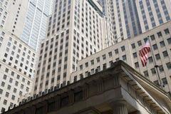 De Beurs van New York Stock Afbeeldingen