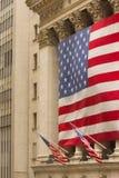 De Beurs van New York Op Wall Street royalty-vrije stock afbeelding